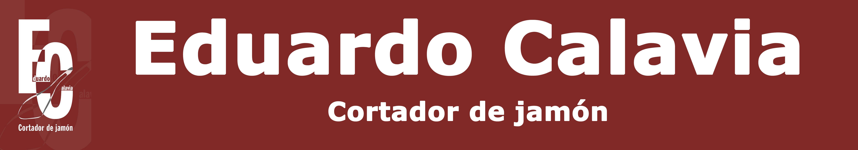 Eduardo Calavia cortador de jamón